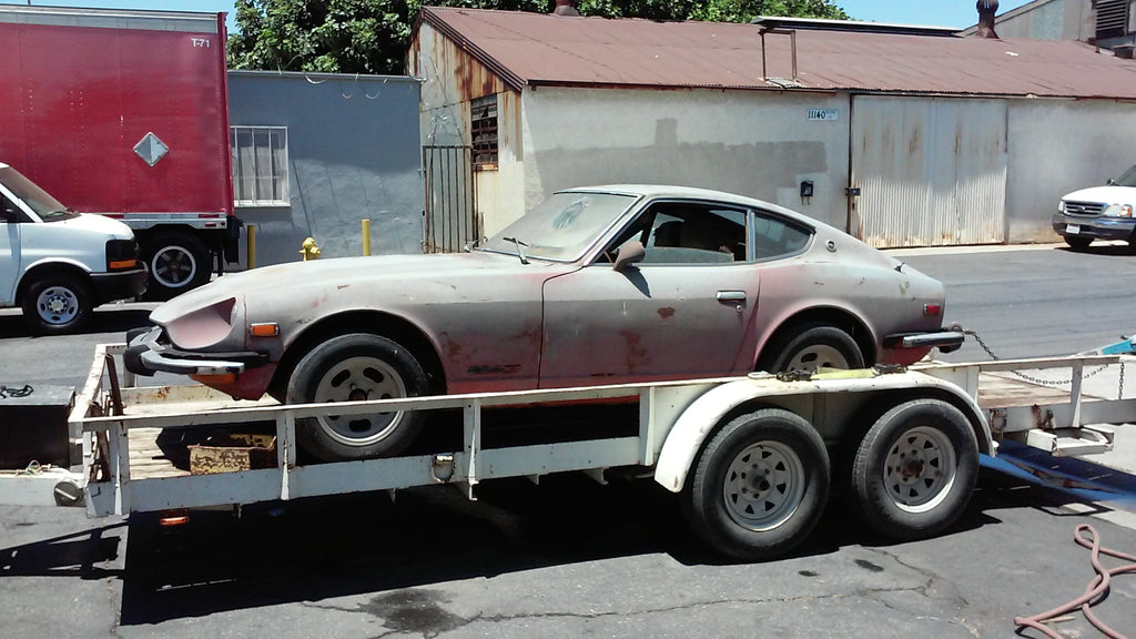 RARE VINTAGE CLASSIC 1974 Datsun 260Z FOR RESTORATION OR PARTS
