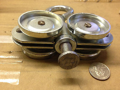 LAWRENCE BRO. INC OVERHEAD CARRIER BALL BEARING TRUCK ZINC *RA-7