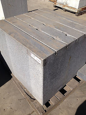 "GRANITE STONE BLOCK PLATE #2  36""x36""x29""height  INSTRUMENT GRADE (R)"