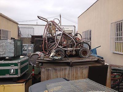 FOR PARTS OR REPAIR MACHINERY UNIT