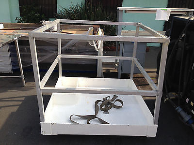 "Heavy duty Safety Work Platform aerial lift basket cage 48""x48""x49""height (R)"