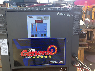 General Battery Deluxe Control Forklift battery Multi-Shift mx3-18-1200 (R)
