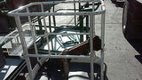 Small Safety Work Platform aerial man lift basket cage Repair Maintenance (R)