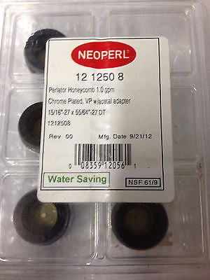 lot of 4 new NEOPERL KITCHEN FAUCET WATER SAVINGS *RA-7