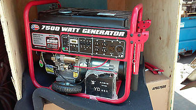 New All Power America Model APGG7500 7500w Gas Powered Portable Generator (R)