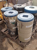 LOT OF 5 CHEMICAL BARRELS TAYLOR WHARTON LR 40 CRYOGENIC (R)