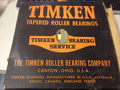 Brand New in box TIMKEN PRECISION BEARING ASSEMBLY 36990 cone 4-84 *RA-7