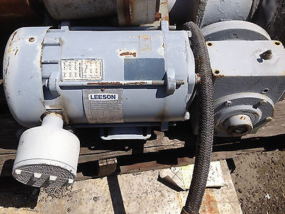 LEESON GEAR ELECTRIC MOTOR (R)