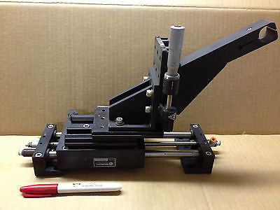 ___SOLD OUT!!!__ROBOHAND PS-4-4 PNEUMATIC POWER SLIDE BASE ASSEMBLY & NRC 430 LINEAR STAGE *RA-5