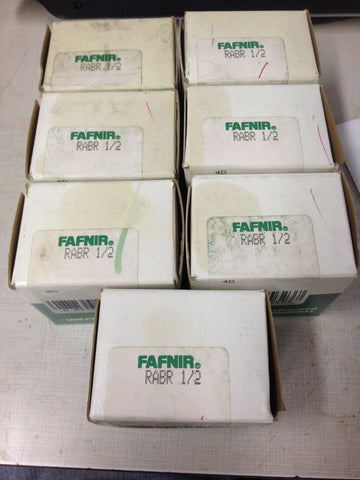 LOT OF 7 USED  Torrington Fafnir RABR 1/2 *RA-9