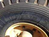 FORKLIFT TIRES MACHINERY MICHELIN 225/75R10 XZ R RADIAL WITH FREE AXEL&WHEELS(R)