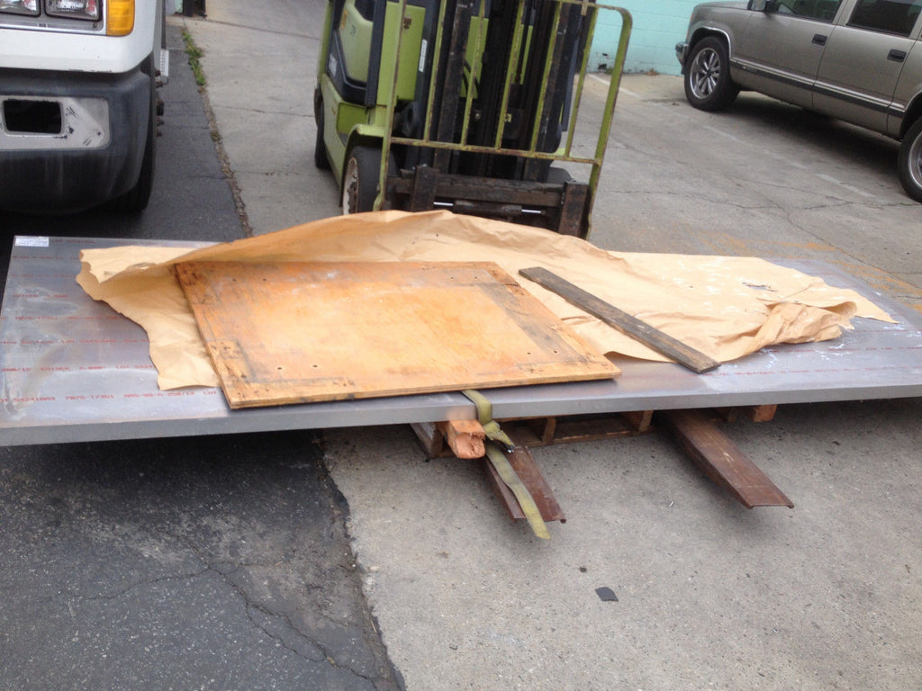 "LARGE Aluminum PLATE 144"" X 48"" X 2"" THICK Metal works Fabrication Projects (R)"