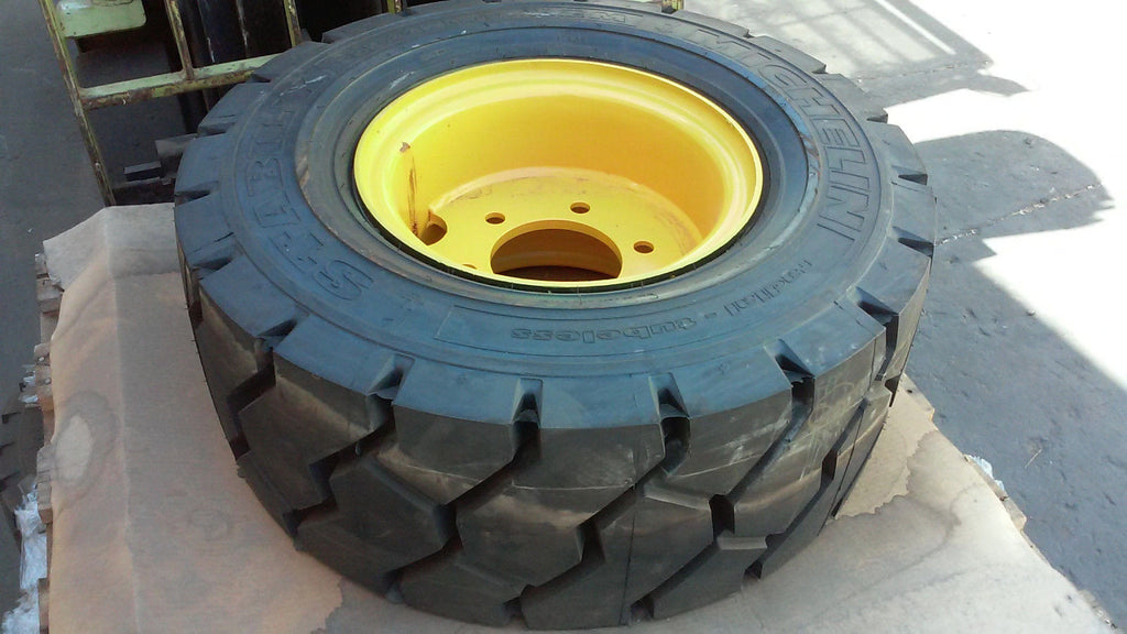355/65R15 Michelin Stabil'X XZM Radial Forklift Tire with wheel