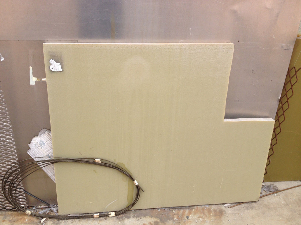 "PHONELIC FIBERGLASS PLATE 47"" X 37"" 1.5"" THICK industry home project etc (R)"