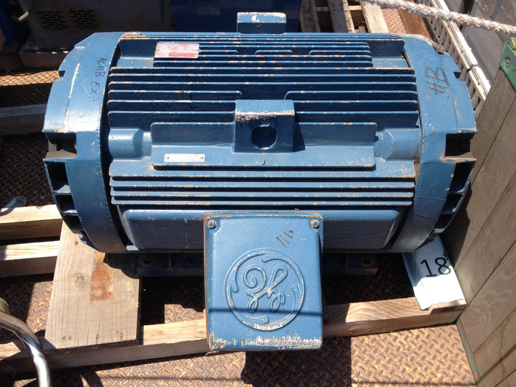 GENERAL ELECTRIC ENERGY SAVER AC MOTOR MODEL SKS449AS3089 200 Horsepower (R)