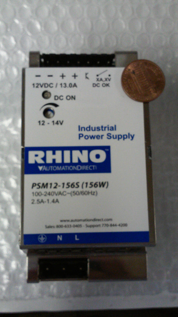 RHINO PSM12-156S (156W) PSM12156S power supply 100-240VAC~(50/60Hz) *RA-2