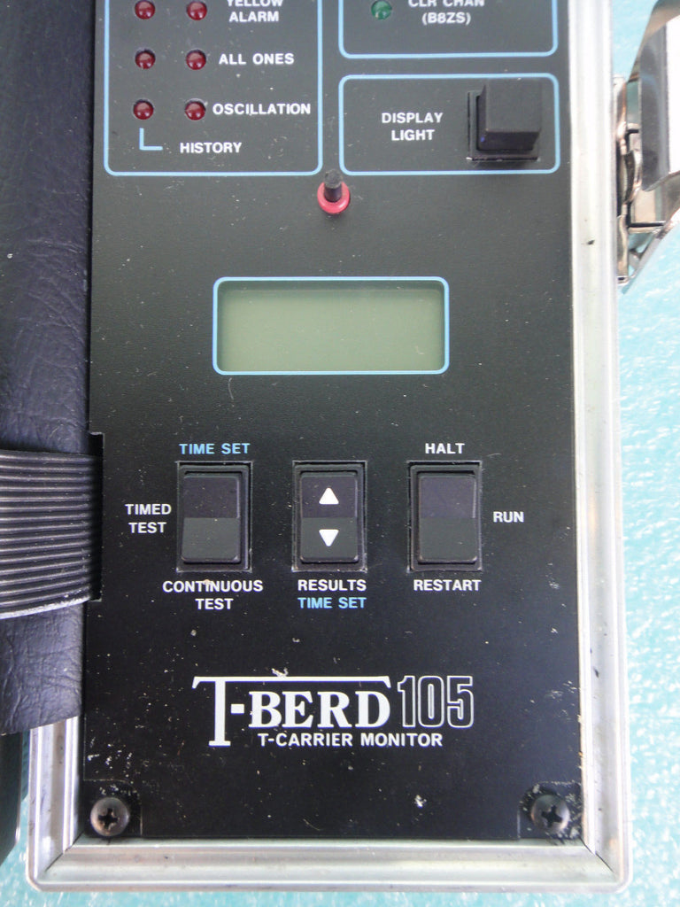 TTC T-Berd 105 T-Carrier Analyzer *RA-1 (UW 41)
