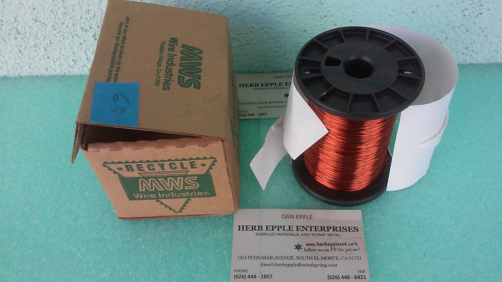 NWS WIRE INDUSTRIES COPPER WIRE MW035CHX000024P RA*10 (UW 419)