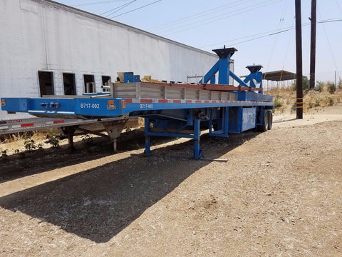 1994 Transport Trailer TRLMO FLATBED TYPE 42F