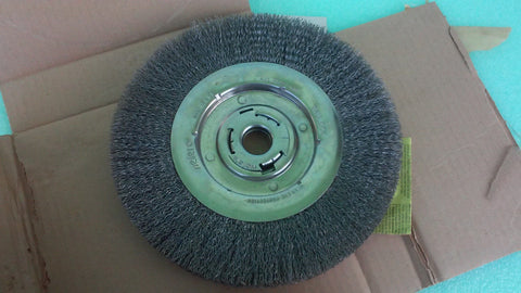 "10"" MED. WEILER 5Y010 Made in usa WHEEL BRUSH*RA-12 (UW 414)"