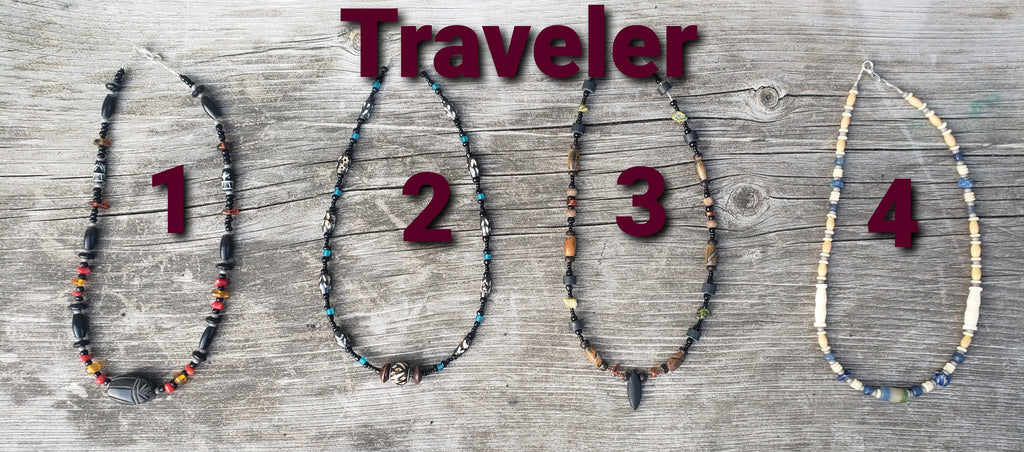 Tribal Necklaces 'Traveler' get a $10 Gift certificate!