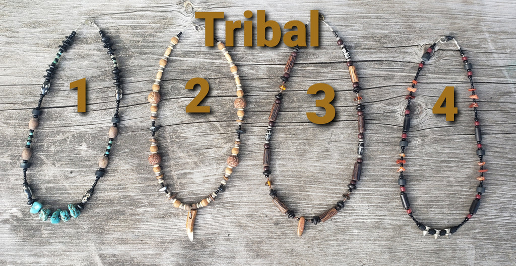 Tribal Necklaces get a $10 Gift certificate!