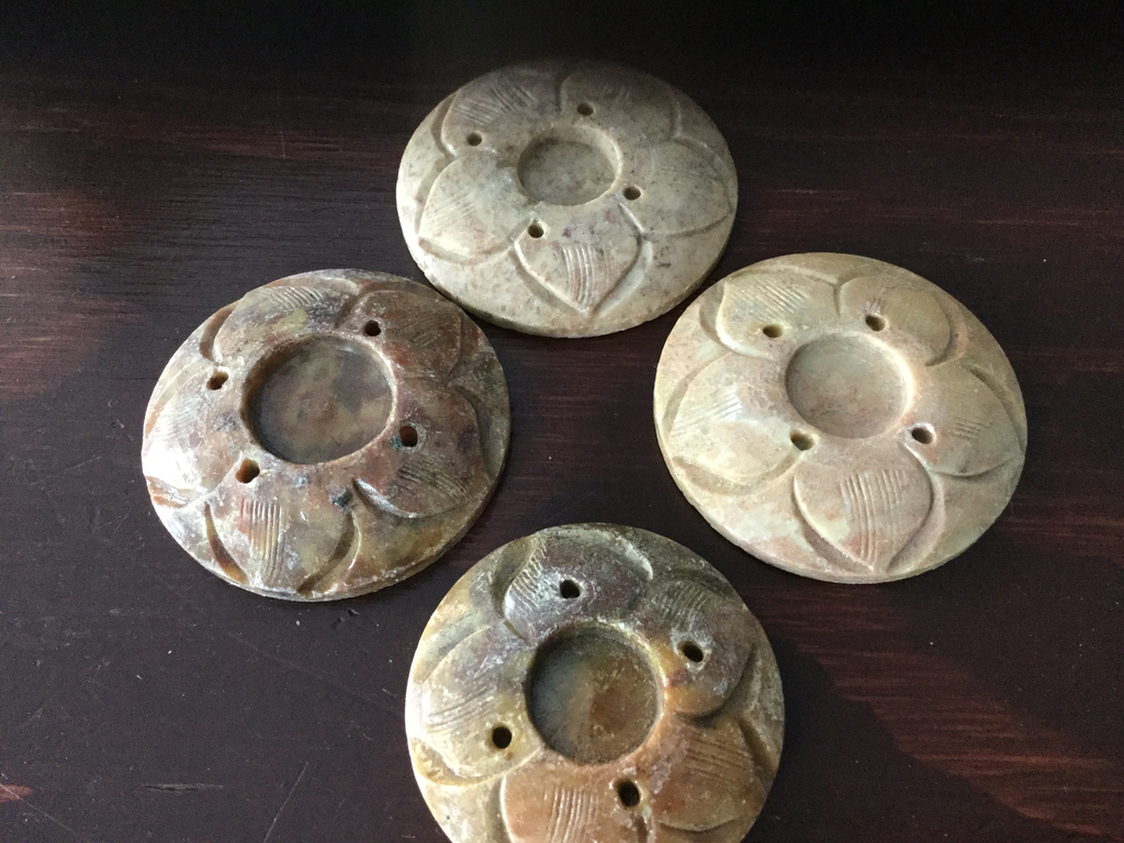 Soapstone incense burners