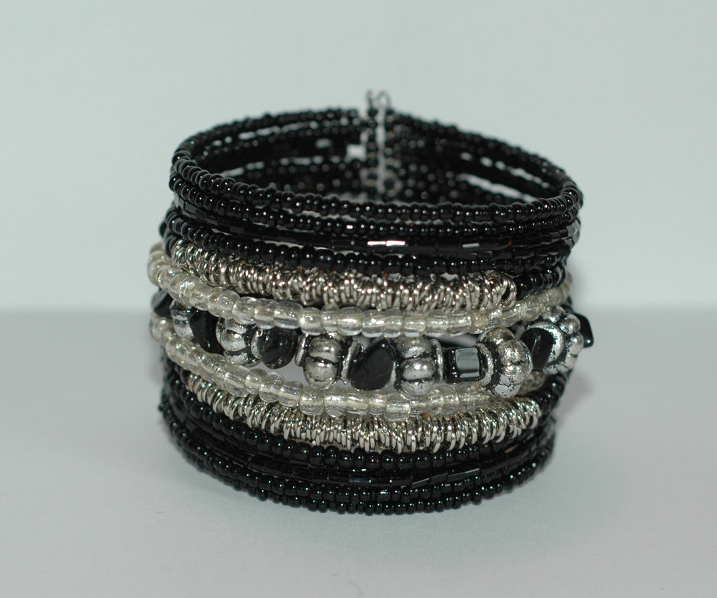 Beaded Bracelet-Black - Soulstice Shop