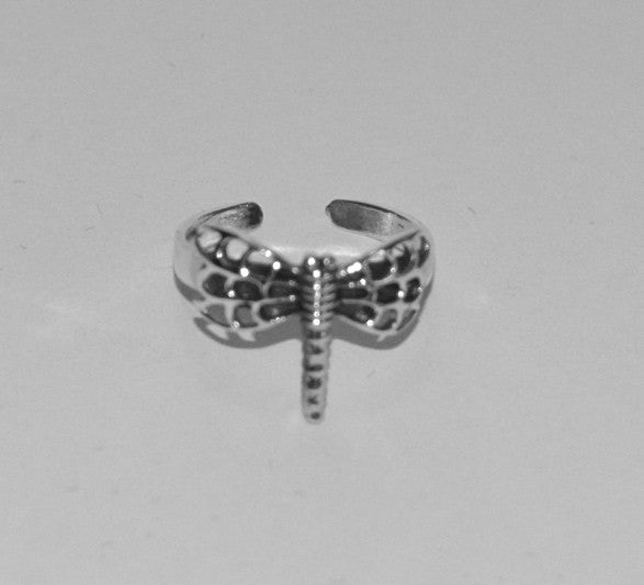 Dragonfly Toe Ring - Soulstice Shop
