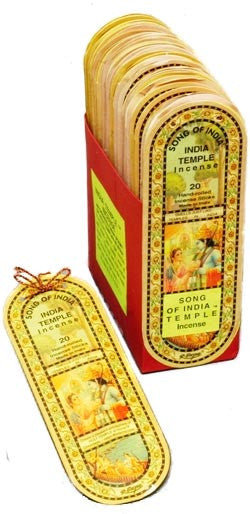 Song of India Temple Incense - Soulstice Shop