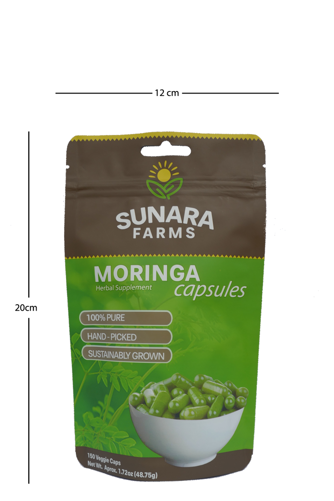 Moringa Leaf capsules (highest potency)