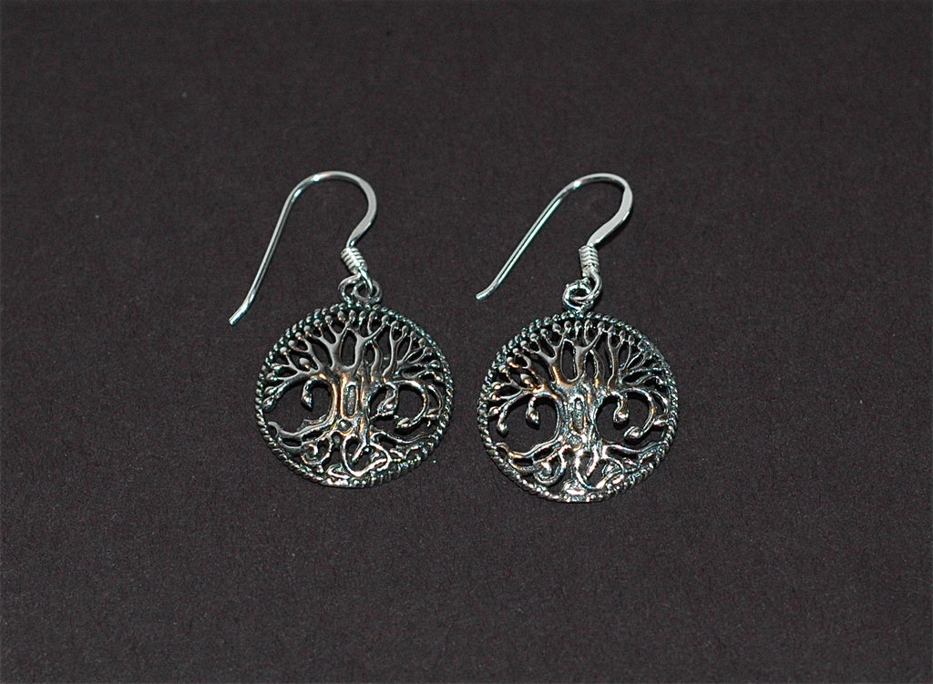 "Tree of Life Earrings 1/3"" - Soulstice Shop"