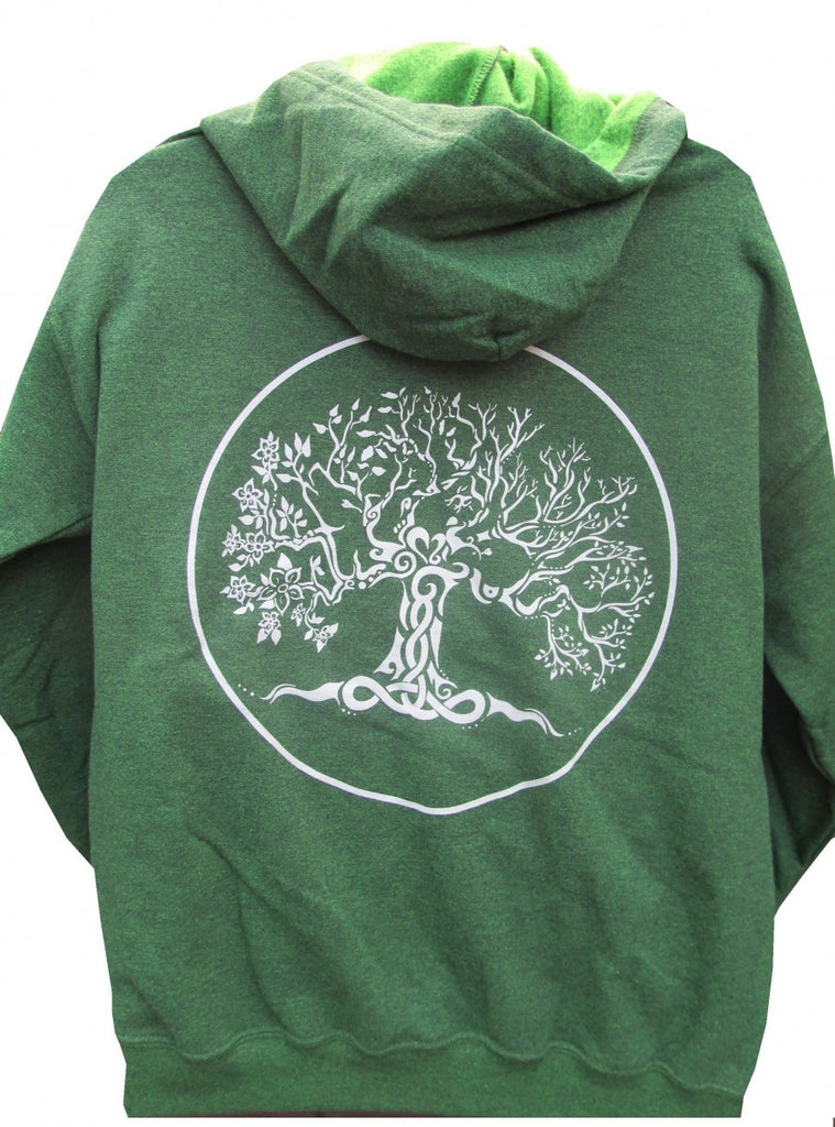 Tree of Life Hoodie - Green - Soulstice Shop
