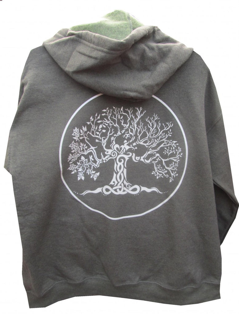 Tree of Life Hoodie - Moss Green - Soulstice Shop