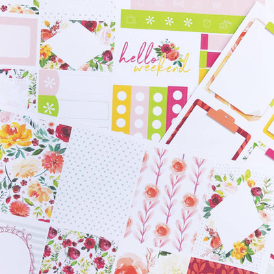 August Exclusive Kit: Autumn Flowers