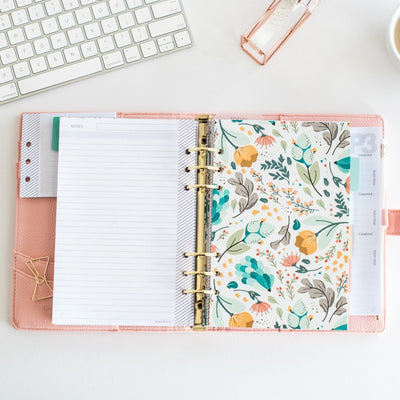 Sunsetted 2017 Essential Planner | Ballerina