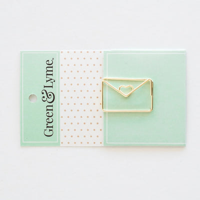 Imperfect Happy Mail Paper Clip