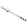 Galaxy Spark Pen: Silver Crystal Gel Pen