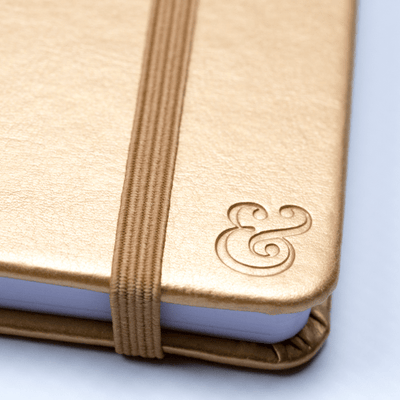 Essential Journal | Matte Gold