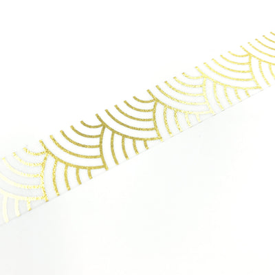 Golden Waves Washi Tape