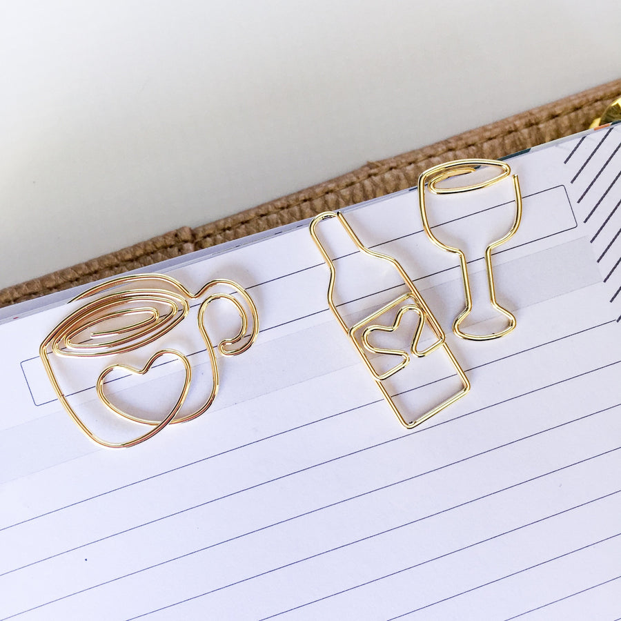 Imperfect Coffee Paper Clip: Coffee Mug