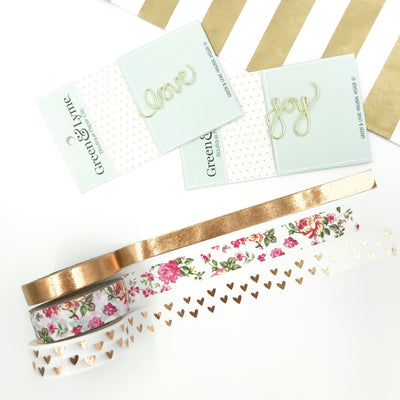 Love Story Washi Tape Collection