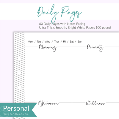 Daily Pages: Personal Refills