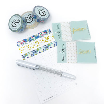 Reminisce Washi & Spark Pen Bundle