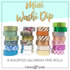 Mini Washi Dip: For the not so extreme washi lovers