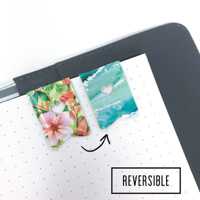Island Vibes Spark Clip: Magnetic Paper Clip