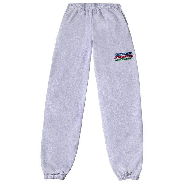 Power Puff Homegirls Sweat Pants - Ash Grey