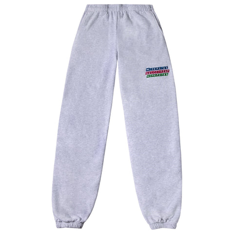 Power Puff Homegirls Unisex Sweat Pants - Ash Grey