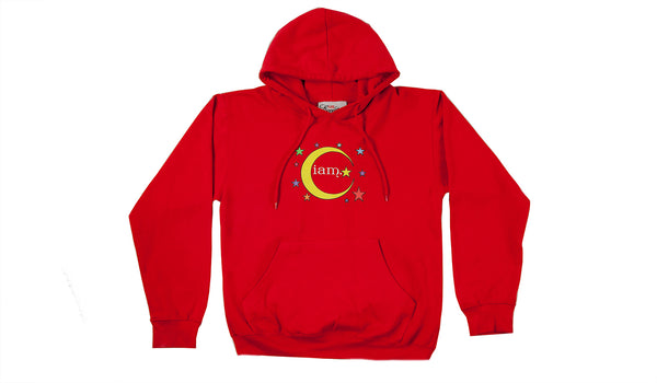 Homegirls Supporting Homegirls Pullover Hoodie - Red