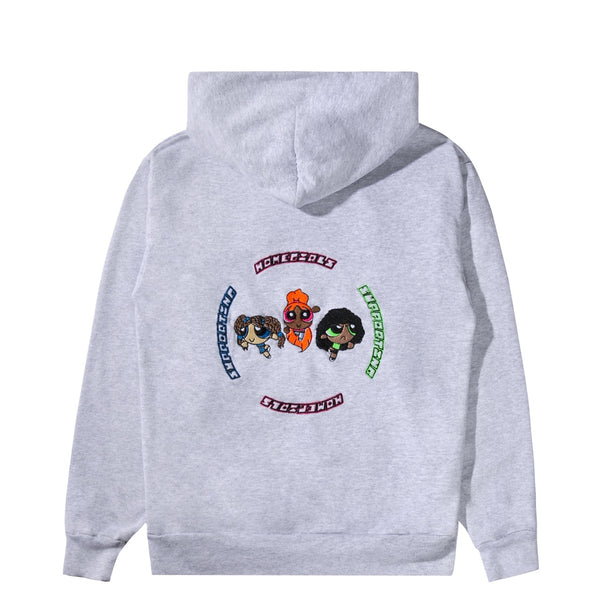 Power Puff Homegirls Unisex Pullover Hoodie - Ash Grey